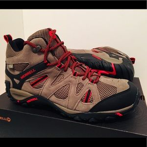 Merrell Shoes - MERRELL Deverta Mid Vent WP Hiking Boot Brand New